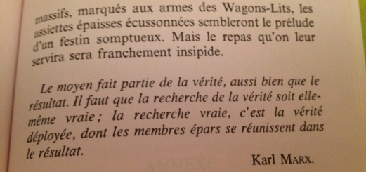 Les choses de Perec
